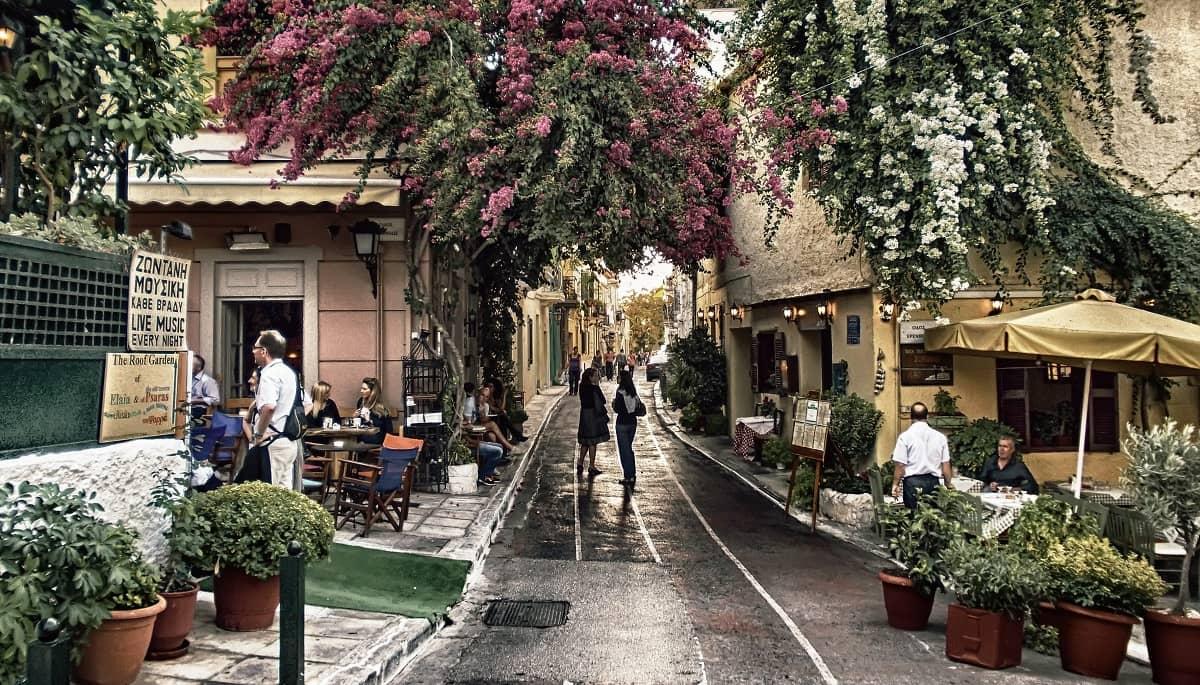Cartierul Plaka Din Atena Tvl Ro