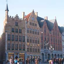 Centrul istoric din Bruges