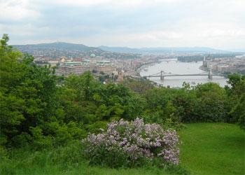 Priveliste de la Citadela Budapesta