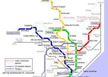 Harta Lisabona Harta Transport Lisabona Harta Interactiva Lisabona