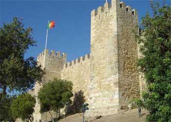 Castelul Sf George Lisabona - Obiective turistice Lisabona