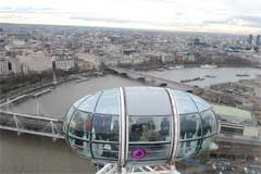 Vedere panoramica din London Eye