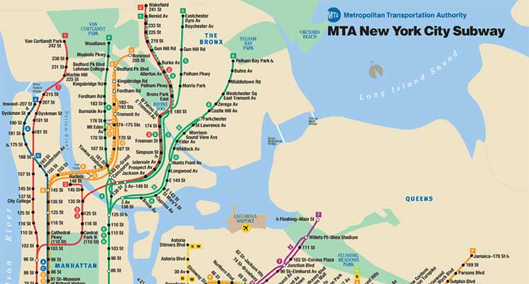 Harta New York Si Harta Metroului Din New York City Tvl Ro
