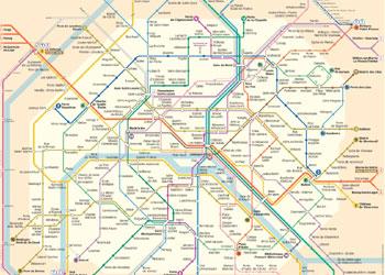 Harta Paris Harta Parisului Si Harta Metroului Din Paris