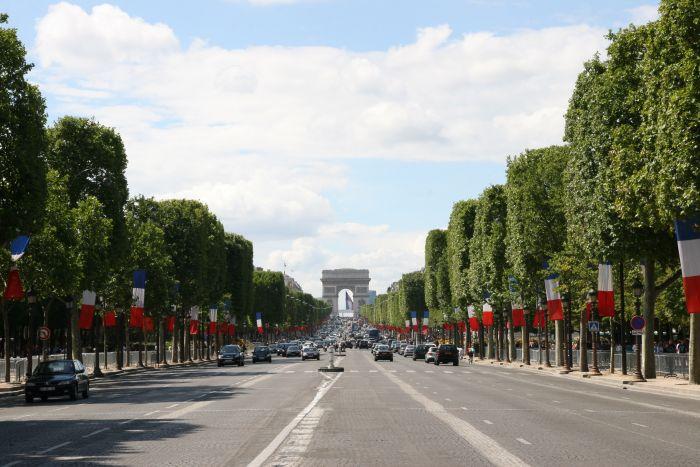 Boulevard des Champs Elysées