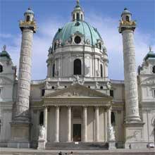 Karlskirche - Biserica Sf. Karl